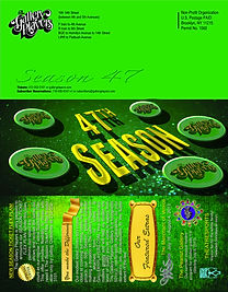 Season 47 Brochure, outside cover