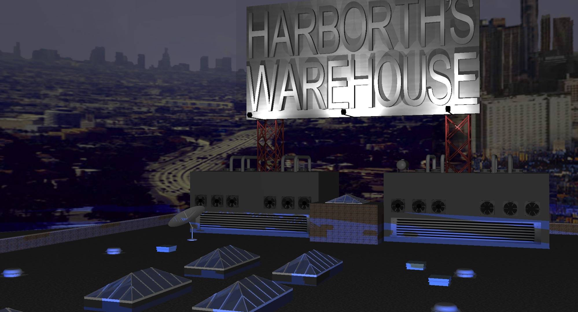 Mark Harborth's Warehouse of 3D