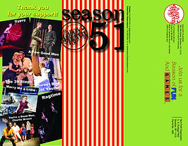 Season 51 Brochure outside cover