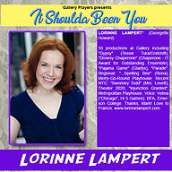 Bio fo Lorinne Lampert - Shoulda Been You