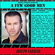 Bio for Joseph Cassese - A Few Good Men
