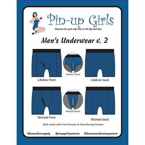 Men's Underwear Pattern Only