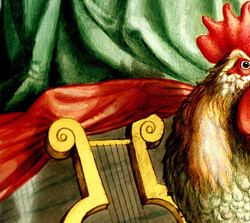 Rooster and Harp