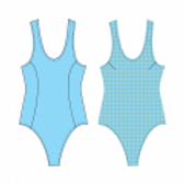 Denise Swim Suit Pattern - Price For Pattern Only