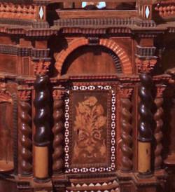 Inlay Decorated Ciborium