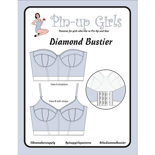 Diamond Bustier Pattern only