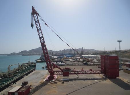 Mammoet Terminal Crane MTS 15