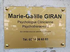plaque psy