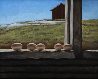 Eggs in the Windowsill