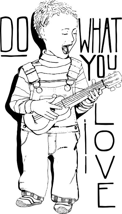 do what you love multiple color trace.jp
