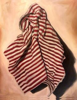 Striped Kitchen Towel I