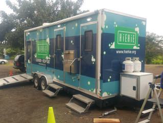 Hiehie Mobile Hygiene Unit