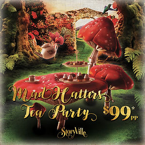 Mad Hatters Tea Party Event