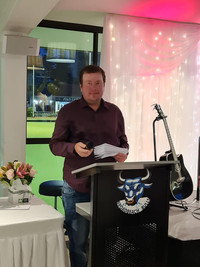 Compere for the evening