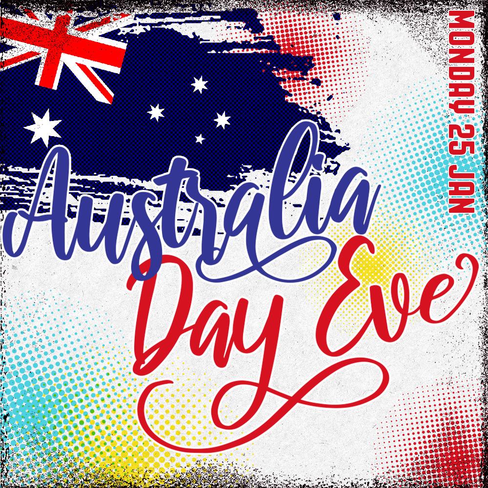 Australia Day Eve