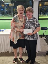Ladies Club Pairs runner-up