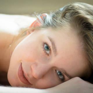 Kristin resting