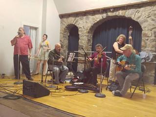 Carl & Chloe Levine With Brooklyn Swing Ensemble