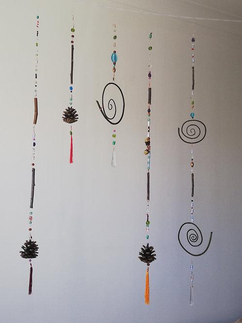 Hanging nature deco