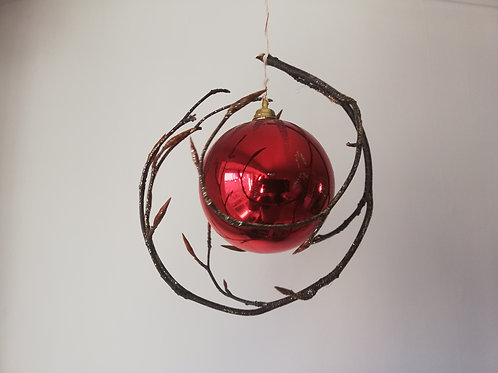 Xmas bauble decor