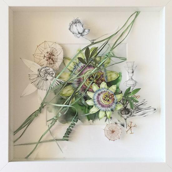 """""""Passiflora"""" Studio tridimensionale"""
