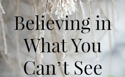 Believing in something you Lech Lecha