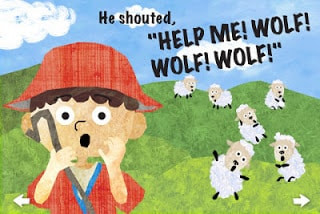 The boy who cried wolf! - Nasso