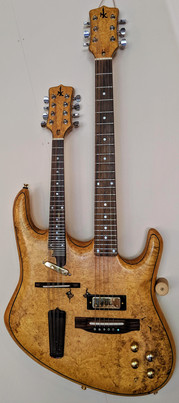 Double Neck Mandolin and Guitar   By David Enke