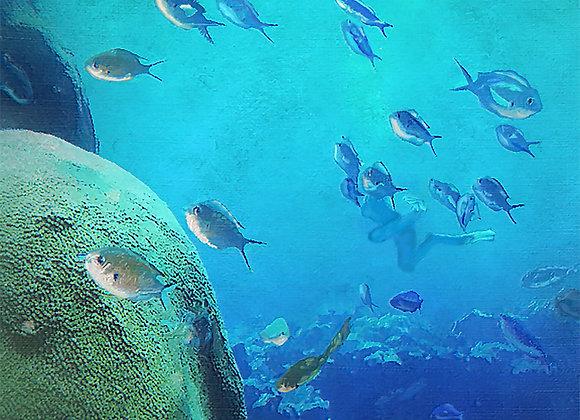 Under the Sea Throw Blanket