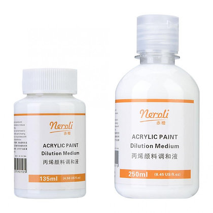 Artists Acrylic Paint Pouring Fluid Medium Paint Pouring Fluid Effect Medium