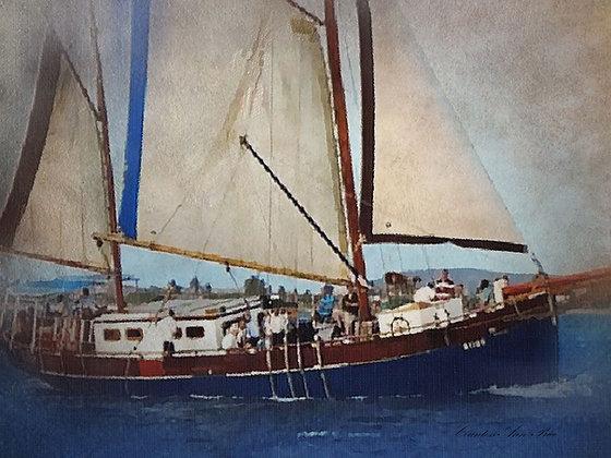 Sailing Party Canvas