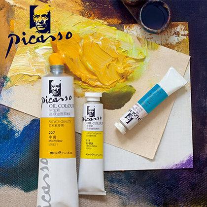 Picasso Professional Oil Paints Set 12 Colors Master Specific Acrylic Paint
