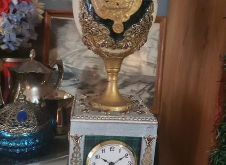 Clan Campbell Clock