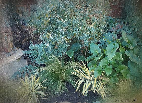 Tropical Bliss Garden Canvas