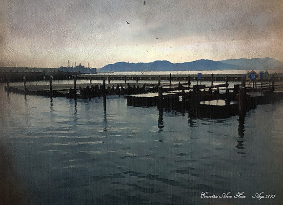 California Dock Canvas