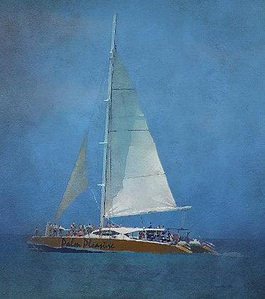 Sail Away Canvas