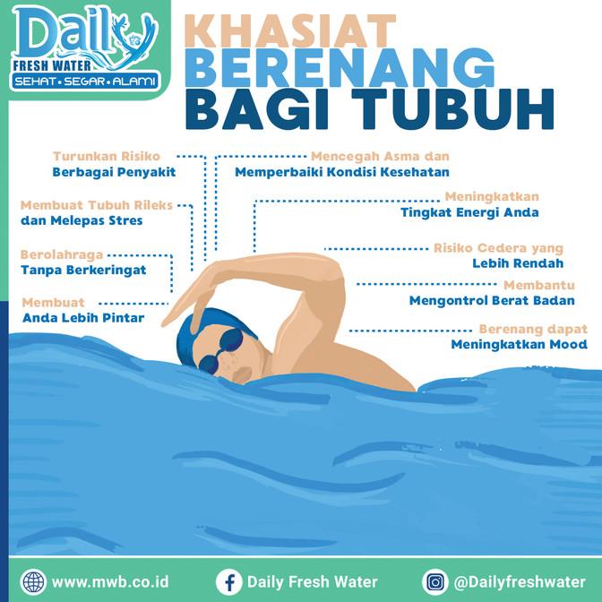 Khasiat Berenang Bagi Tubuh