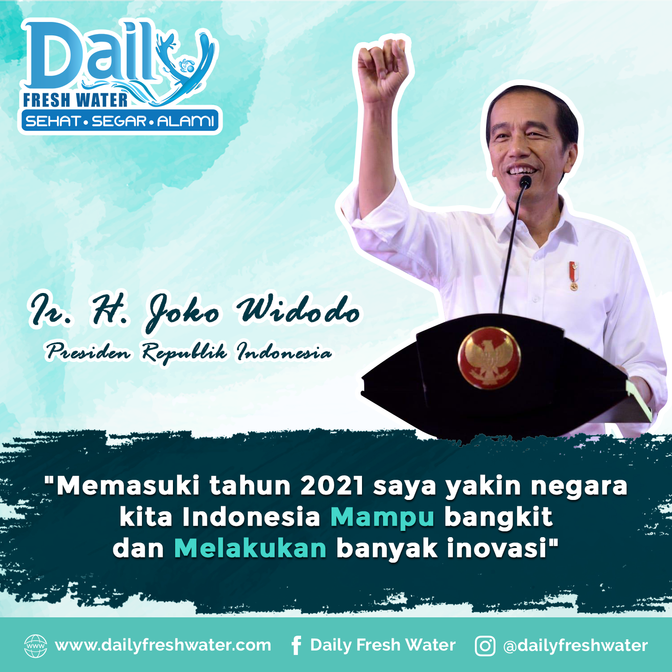 Pesan Presiden Ir. H. Joko Widodo