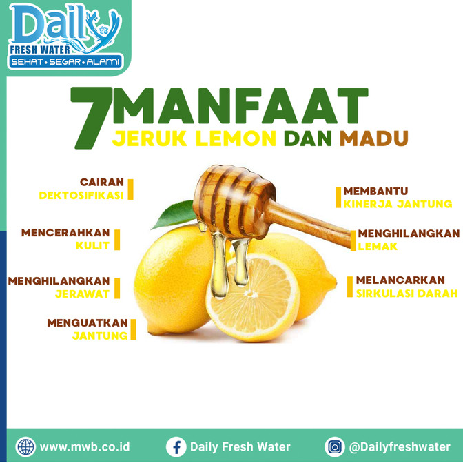 7 Manfaat Jeruk Lemon Dan Madu