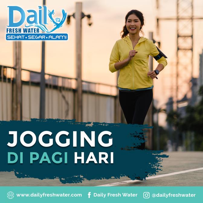 Jogging di Pagi Hari