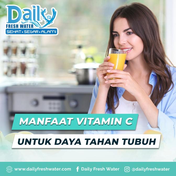 Manfaat Vitamin C untuk Daya tahan Tubuh