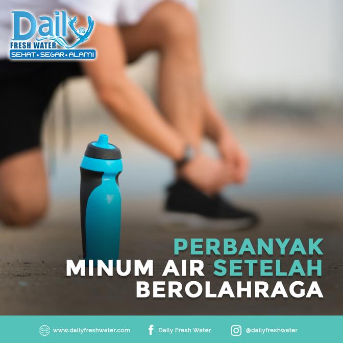Perbanyak Minum Air Setelah Berolahraga
