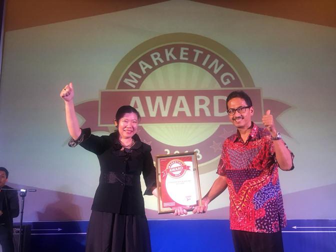 Daily Fresh Water Raih Marketing Award 2018