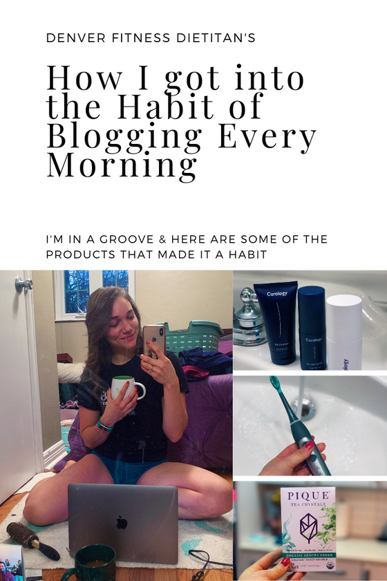 How I got into the Habit of Blogging Every Morning