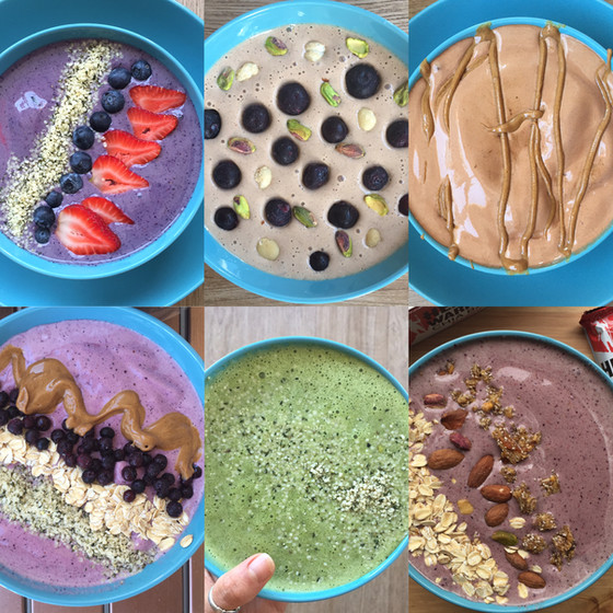 6 Simple Smoothie Bowl Recipes that are Healthy and Delicious