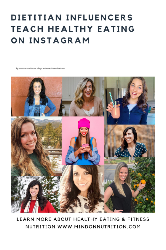Dietitian Influencers are Teaching People How To Eat Healthy on Instagram