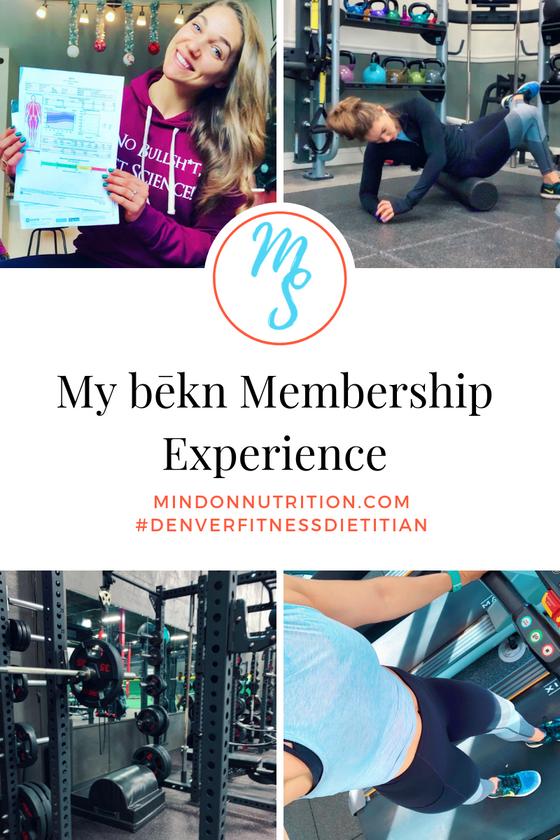 My bēkn Membership Experience