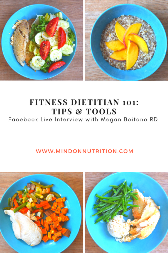Fitness Dietitian 101 Tips and Tools