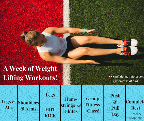 A Reader Did My Workouts so Here's Another Week of Workouts!