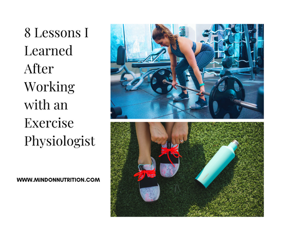 8 Lessons I Learned After Working with an Exercise Physiologist